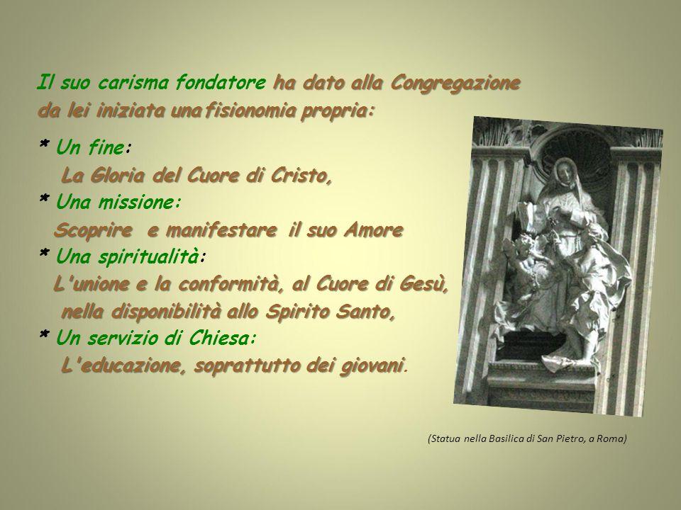 1828-37, Nuove fondazioni in Italia: a Roma: Trinità dei Monti, Santa Rufina e Villa Lante.