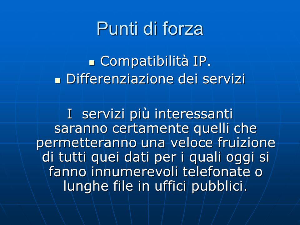 Punti di forza Compatibilità IP. Compatibilità IP.