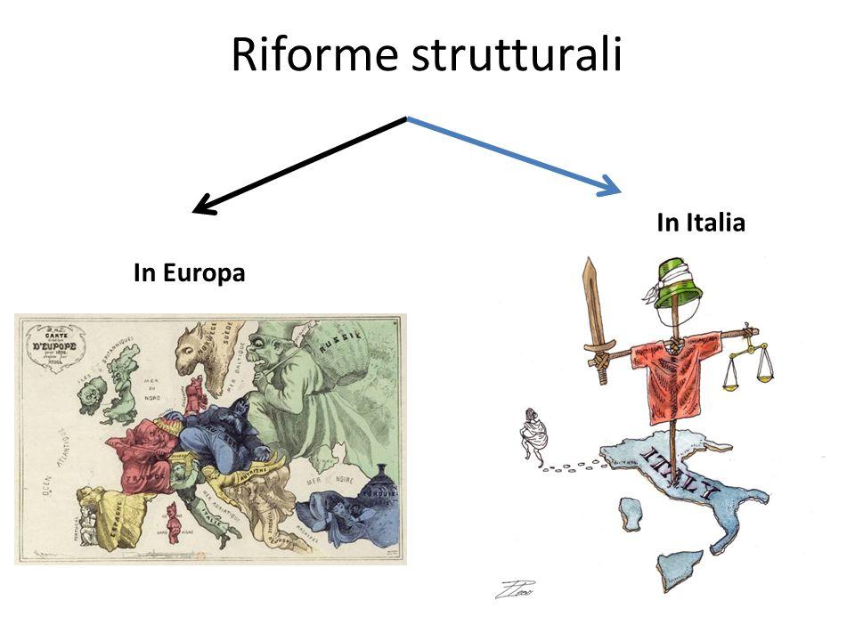 Riforme strutturali In Europa In Italia