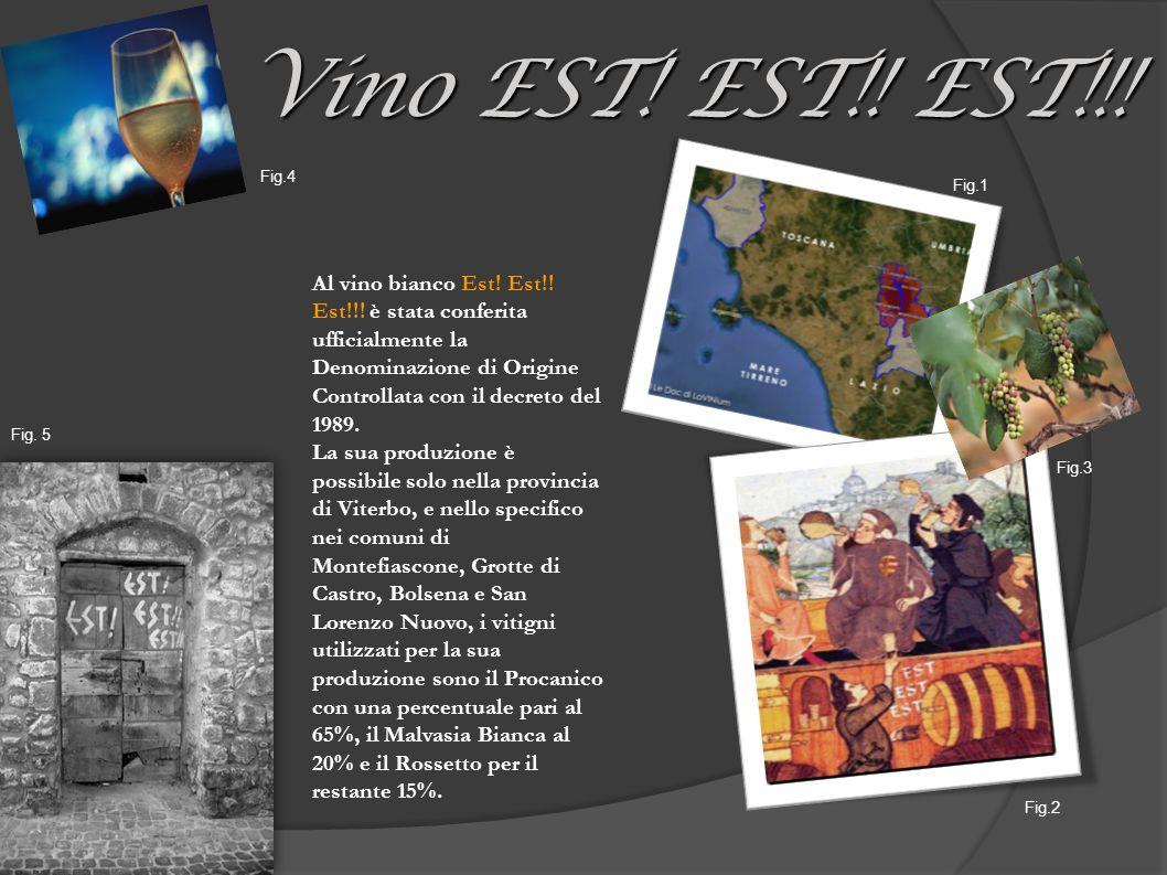 Al vino bianco Est. Est!. Est!!.