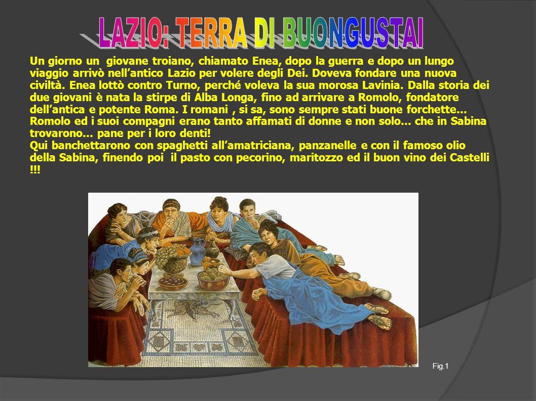 Un giorno un giovane troiano, chiamato Enea, dopo la guerra e dopo un lungo viaggio arrivò nell'antico Lazio per volere degli Dei.
