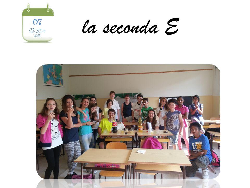 la seconda E 07 Giugno 2014