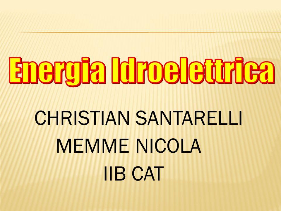 CHRISTIAN SANTARELLI MEMME NICOLA IIB CAT