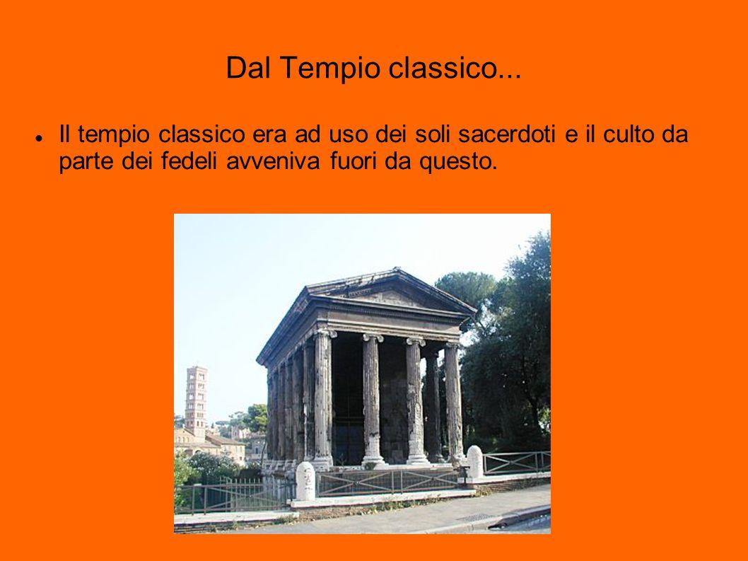 L abside Deriva dal greco apsis, cerchio, arco o volta ; nella struttura di un edificio è generalmente una proiezione a pianta semicircolare o poligonale delle pareti verso l esterno, con il tetto a volta.