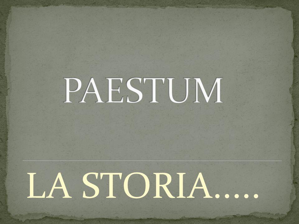 LA STORIA.....