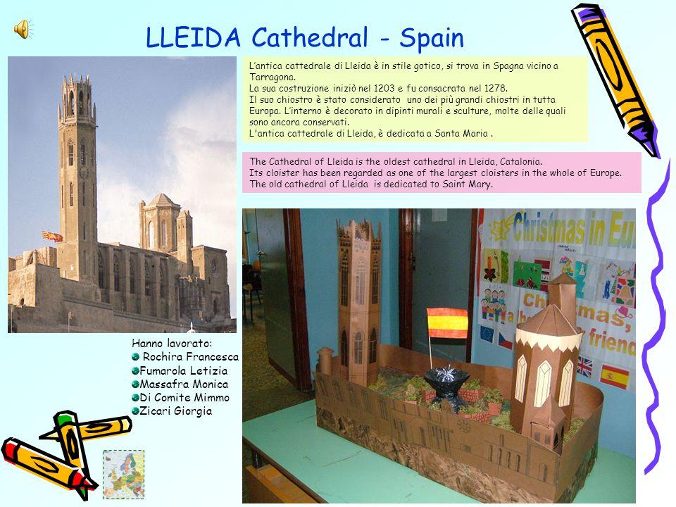 LLEIDA Cathedral - Spain L'antica cattedrale di Lleida è in stile gotico, si trova in Spagna vicino a Tarragona.