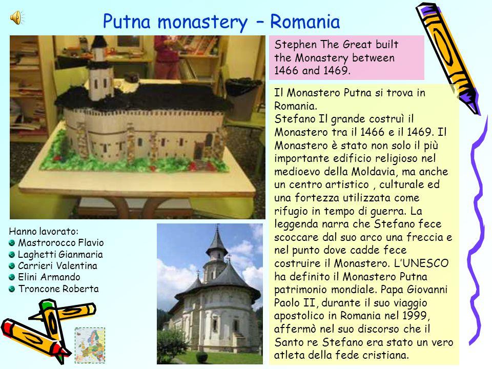 Putna monastery – Romania Il Monastero Putna si trova in Romania.