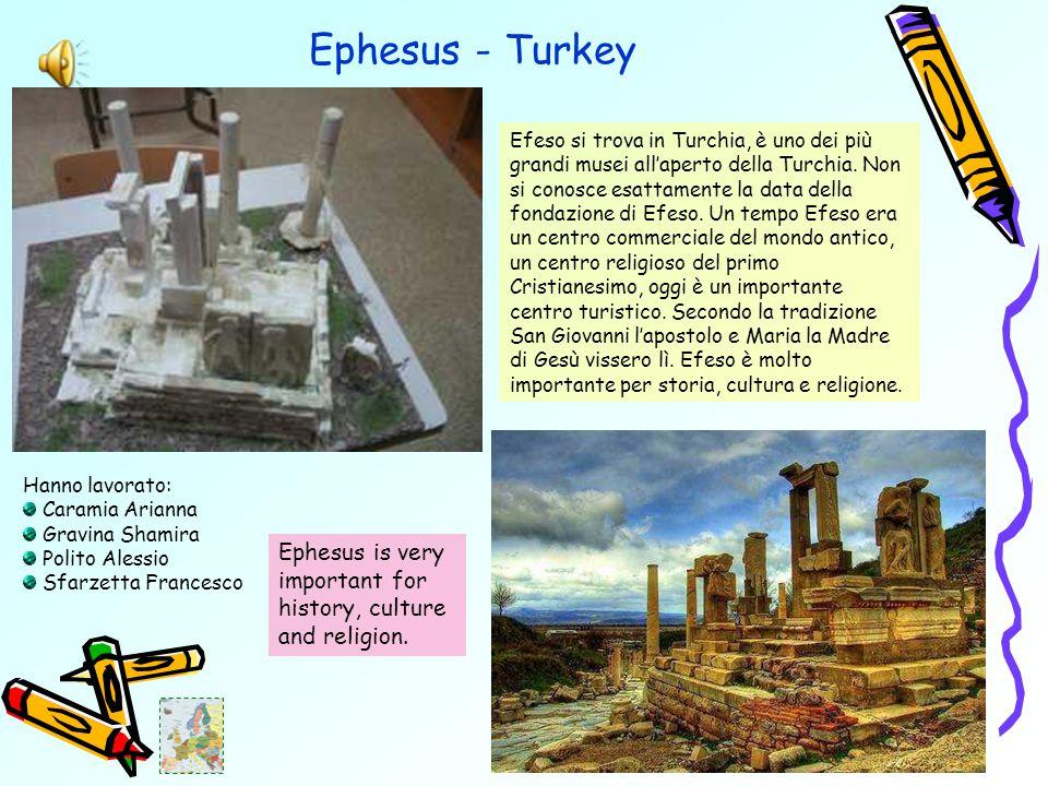 Ephesus - Turkey Efeso si trova in Turchia, è uno dei più grandi musei all'aperto della Turchia.