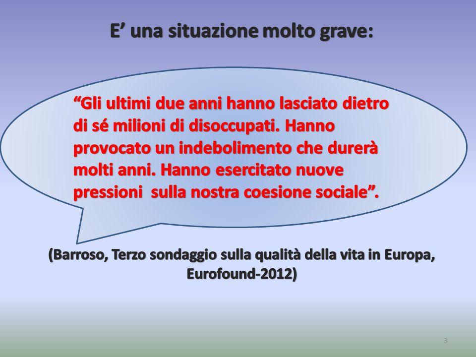 Eurofound ribadisce: Eurofound ribadisce: Anche se non è una novità: Burke et al.