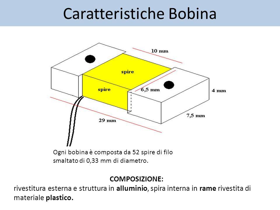 Bobine di Mirnov - Funzionamento Solo 22 delle 57 bobine sono utilizzate per l'acquisizione (sono quelle riportate in grassetto nella seconda diapositiva).