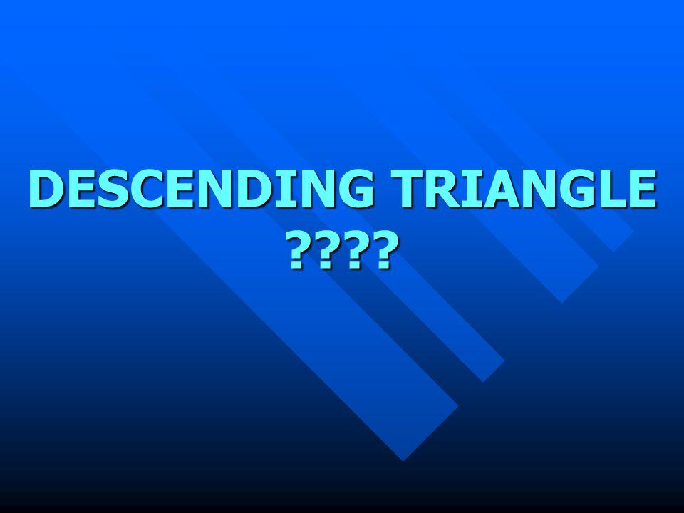 DESCENDING TRIANGLE ????