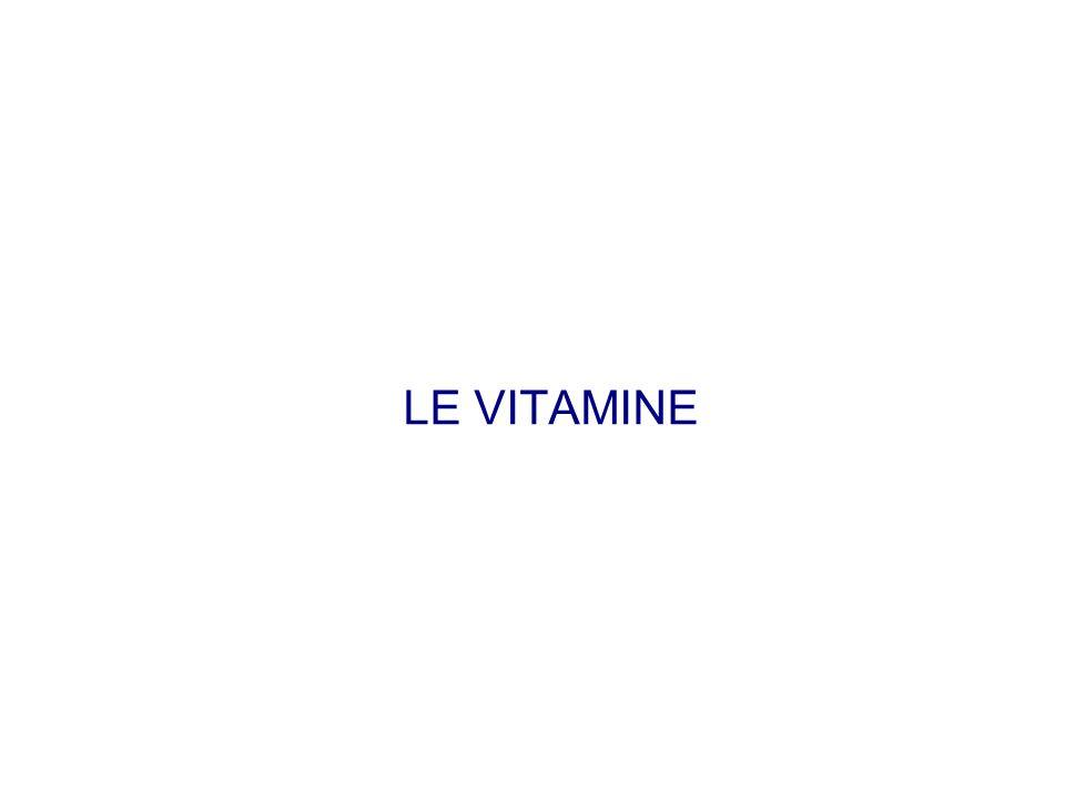 Vitamina B 9 e vitamina B 12 Vitamina B 9 (acido folico) Interviene nella produzione di globuli rossi Fonti: vegetali a foglia verde, fegato Carenza: anemia megaloblastica.