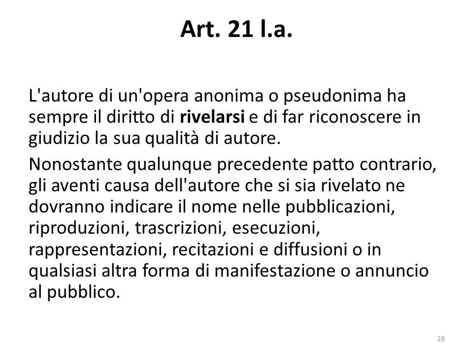 Art. 21 l.a.