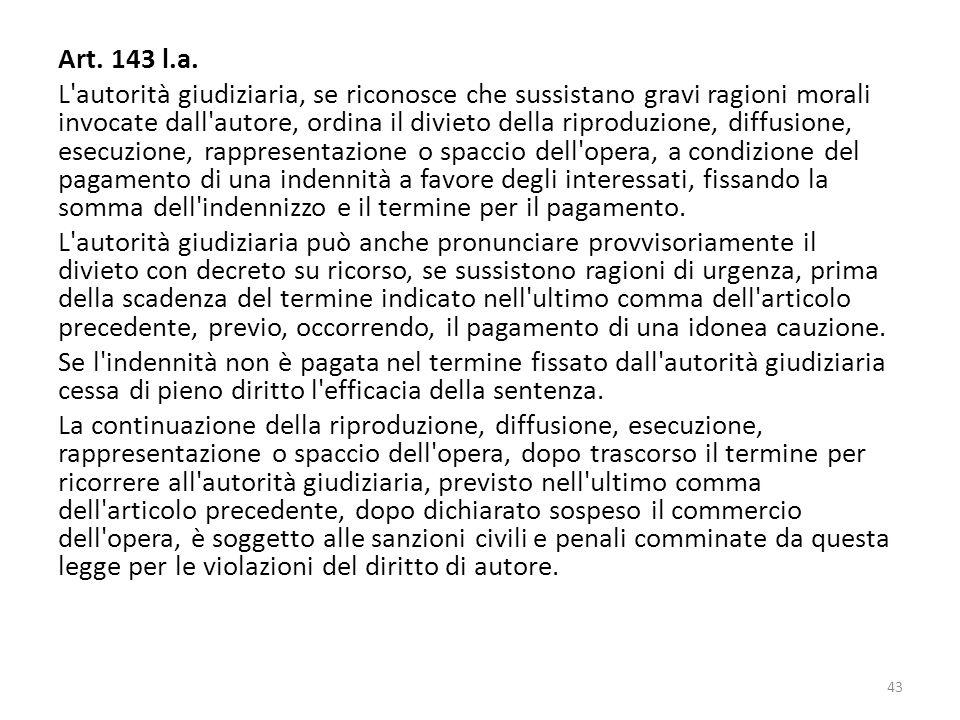 Art. 143 l.a.