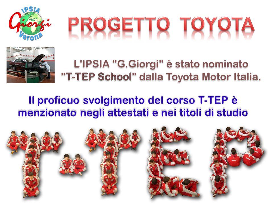Il proficuo svolgimento del corso T-TEP è menzionato negli attestati e nei titoli di studio