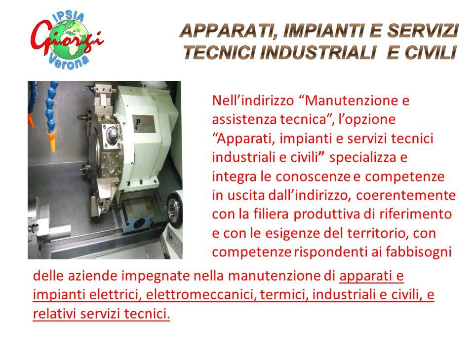 delle aziende impegnate nella manutenzione di apparati e impianti elettrici, elettromeccanici, termici, industriali e civili, e relativi servizi tecni