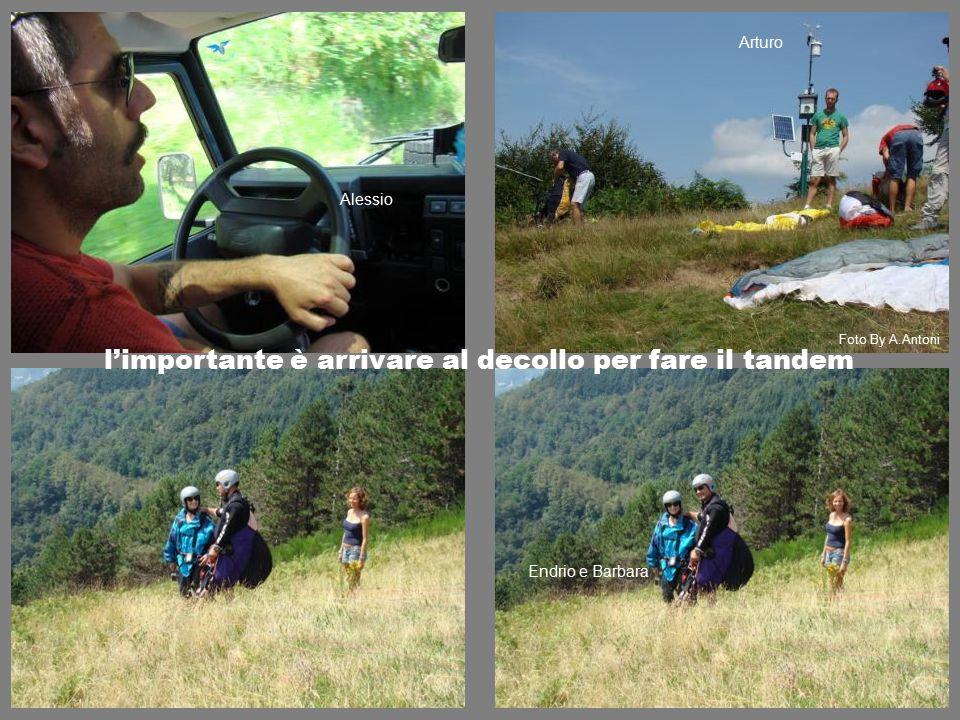 l'importante è arrivare al decollo per fare il tandem Endrio e Barbara Alessio Arturo Foto By A.Antoni