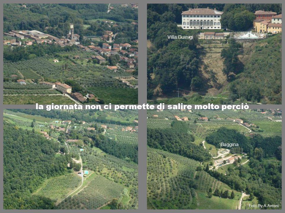 la giornata non ci permette di salire molto perciò Baggina Villa Guinigi Foto By A.Antoni