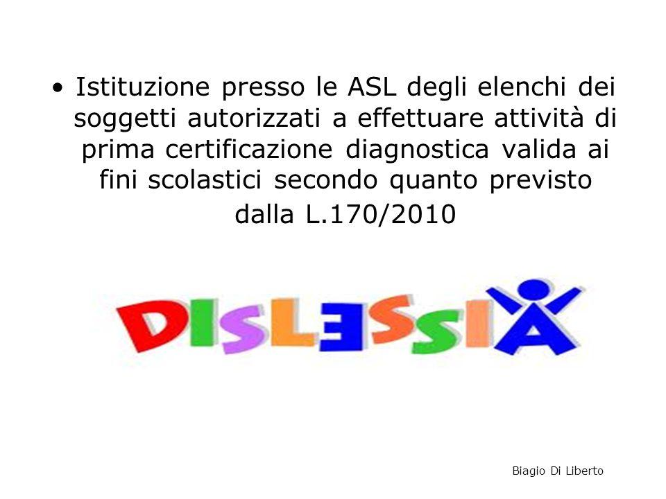 Note n. 6315 del 21/2/2013 e n. 9534 del 25/3/2013 Istituzione presso le ASL degli elenchi dei soggetti autorizzati a effettuare attività di prima cer