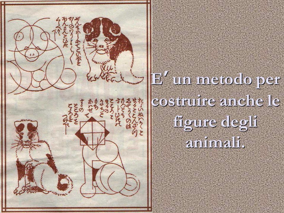 E' un metodo per costruire anche le figure degli animali.