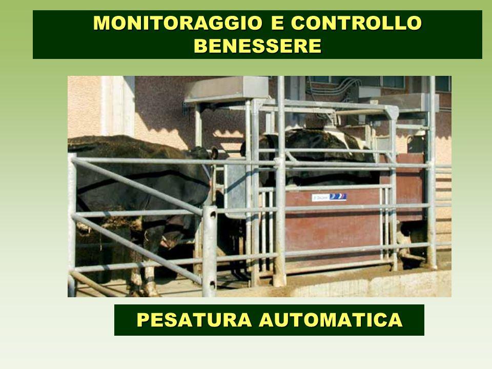 PESATURA AUTOMATICA MONITORAGGIO E CONTROLLO BENESSERE