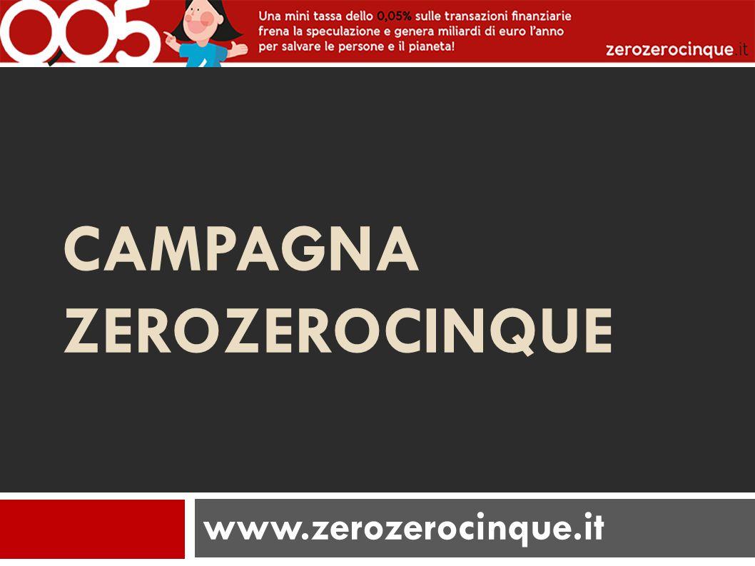 CAMPAGNA ZEROZEROCINQUE www.zerozerocinque.it