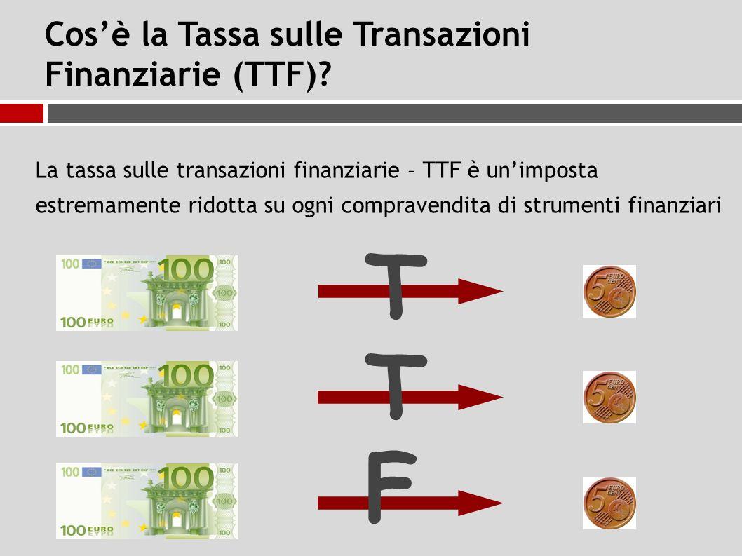 Cos'è la Tassa sulle Transazioni Finanziarie (TTF).