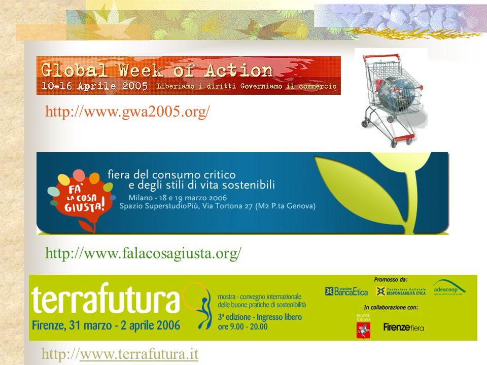 http://www.gwa2005.org/ http://www.terrafutura.itwww.terrafutura.it http://www.falacosagiusta.org/