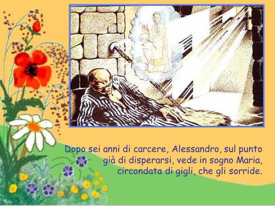 Dopo aver ricevuto quel Gesù che tra poco sarebbe andata a vedere in cielo, come ella stessa disse, Maria lascia questa terra per andare a ricevere il