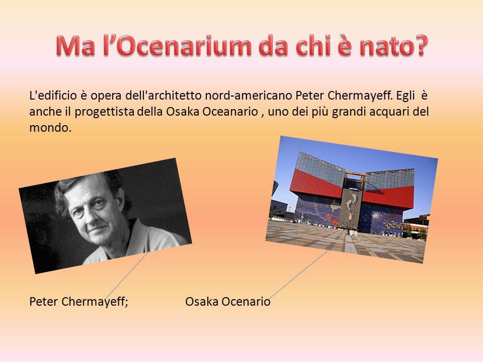 L edificio è opera dell architetto nord-americano Peter Chermayeff.
