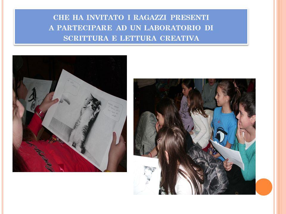 MOTIVANDOLI ALLA LETTURA DI IMMAGINI, ALLA CREATIVITA ', AL CONFRONTO
