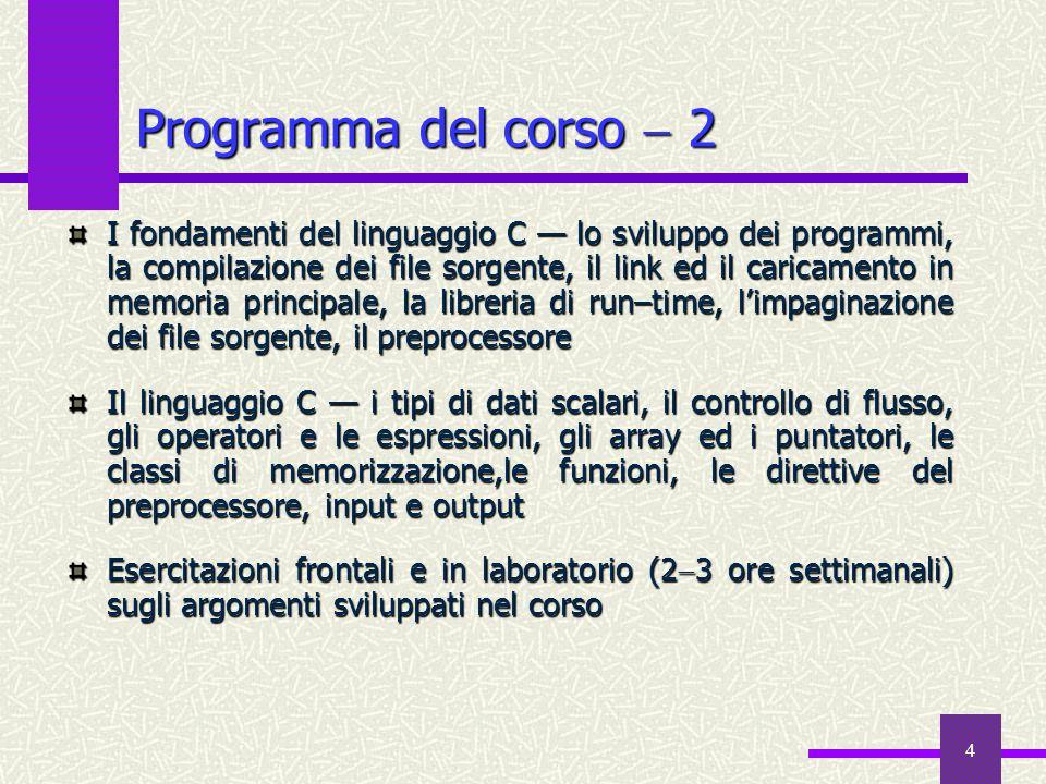 5 Testi  1 In alternativa, uno qualsiasi fra… A.Bellini e A.