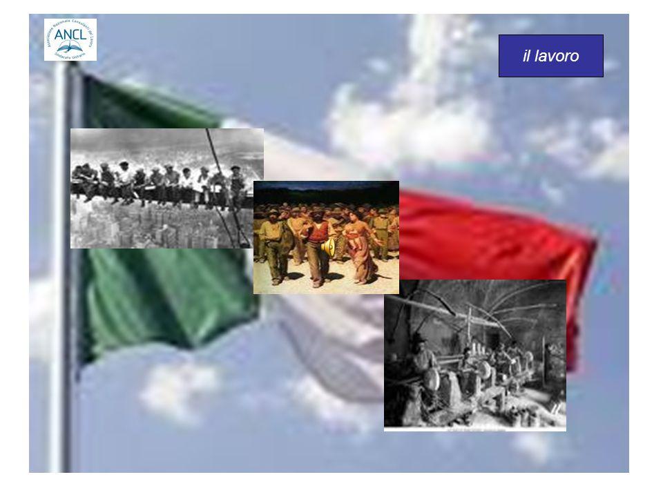 Art.1. L Italia è una Repubblica democratica, fondata sul lavoro.