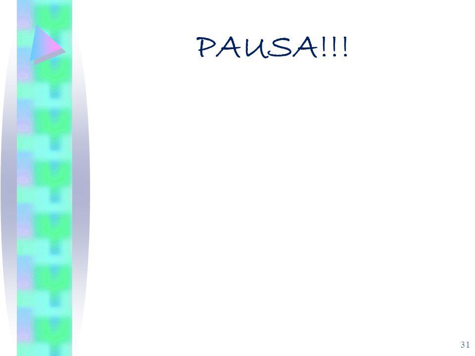 PAUSA!!! 31