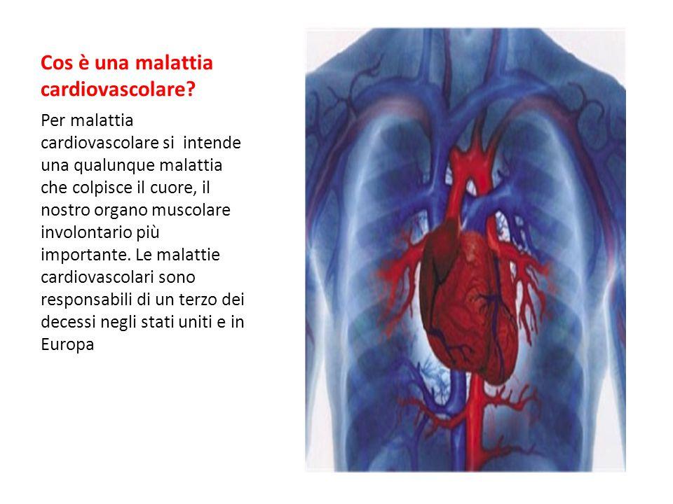 Cos è una malattia cardiovascolare.