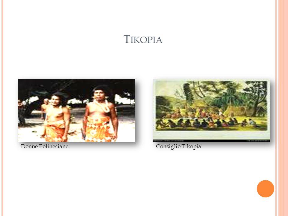 T IKOPIA Donne PolinesianeConsiglio Tikopia