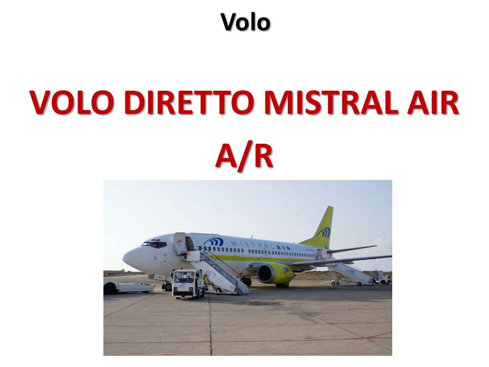Volo VOLO DIRETTO MISTRAL AIR A/R