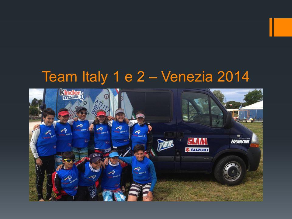 Team Italy 1 e 2 – Venezia 2014