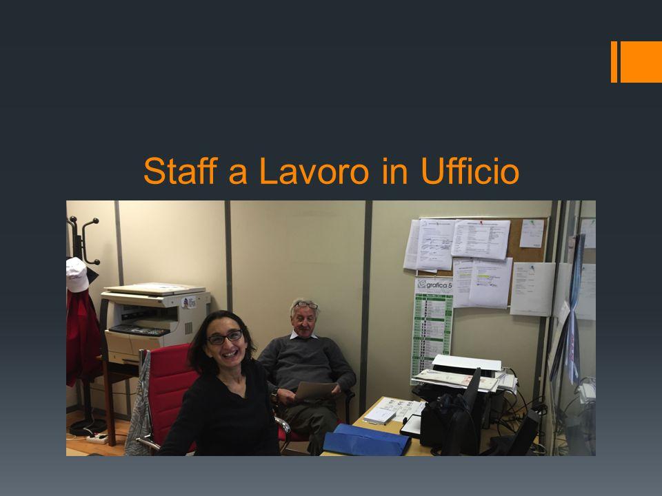 Staff a Lavoro in Ufficio
