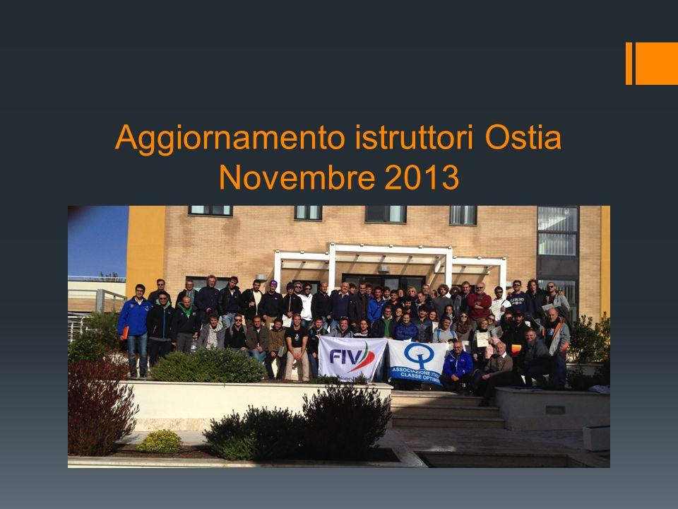Aggiornamento istruttori Ostia Novembre 2013