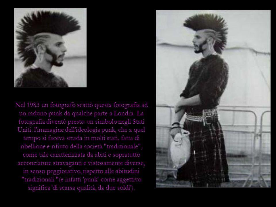 Nel 1983 un fotografò scattò questa fotografia ad un raduno punk da qualche parte a Londra. La fotografia diventò presto un simbolo negli Stati Uniti: