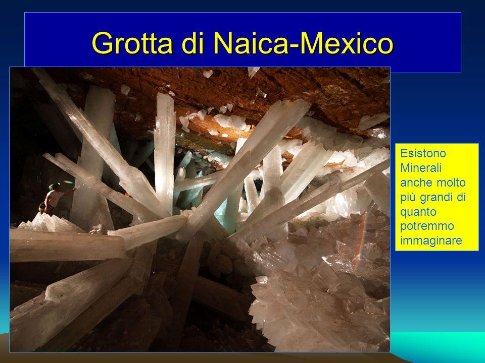 Grotta di Naica-Mexico Esistono Minerali anche molto più grandi di quanto potremmo immaginare