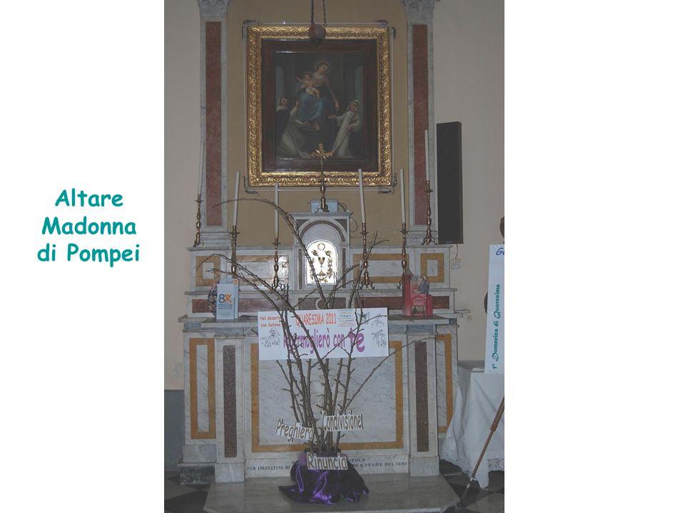 Altare Madonna di Pompei