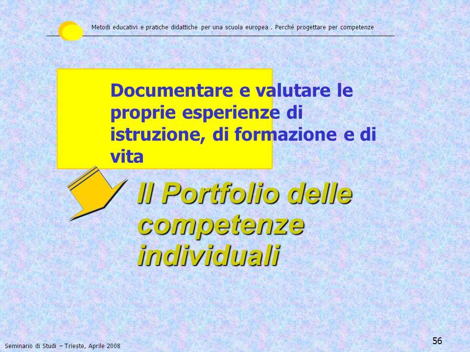 57 Curriculum Vitae EUROPASS - il libretto formativo 1998 – Europass - il Libretto formativo individuale E' stato promosso dal Consiglio Europeo nel 1998 per rendere trasparenti tutte le esperienze di formazione maturate da una persona.