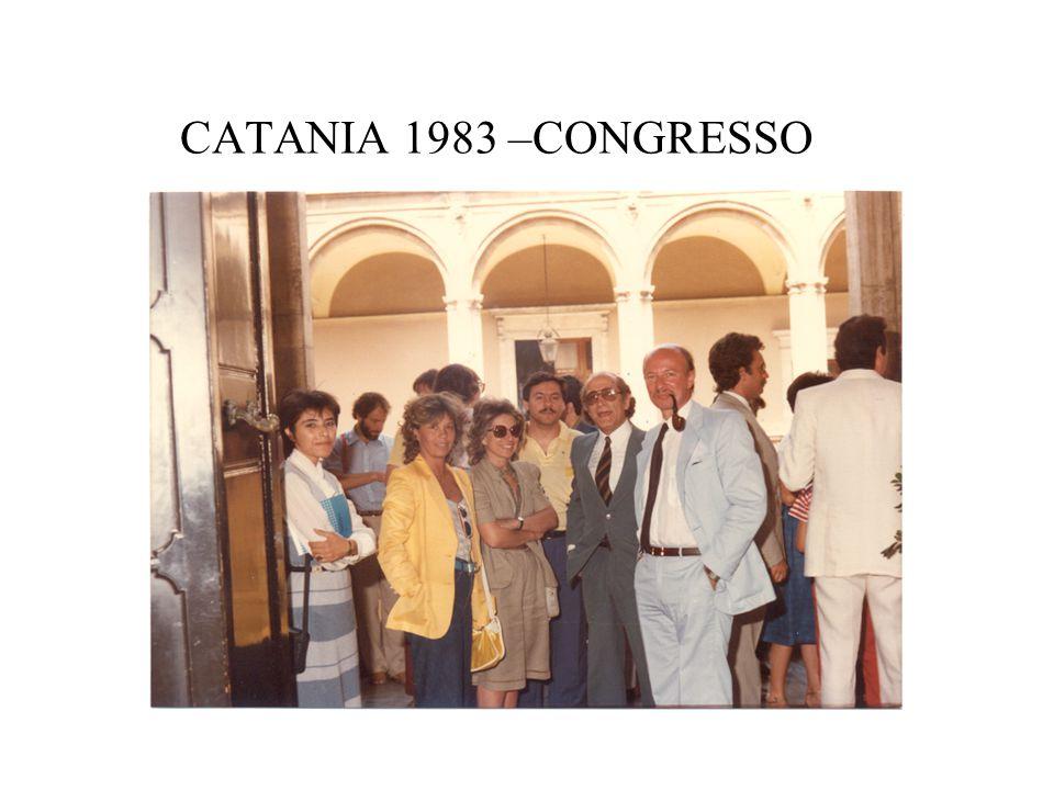 CATANIA 1983 –CONGRESSO