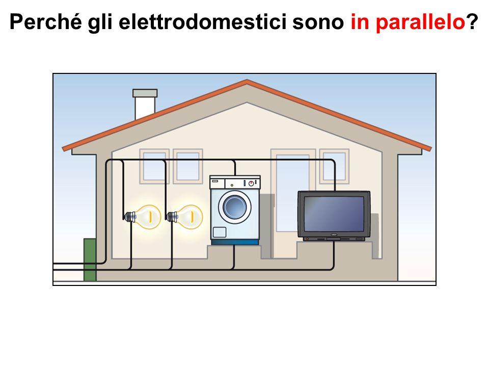 Perché gli elettrodomestici sono in parallelo?