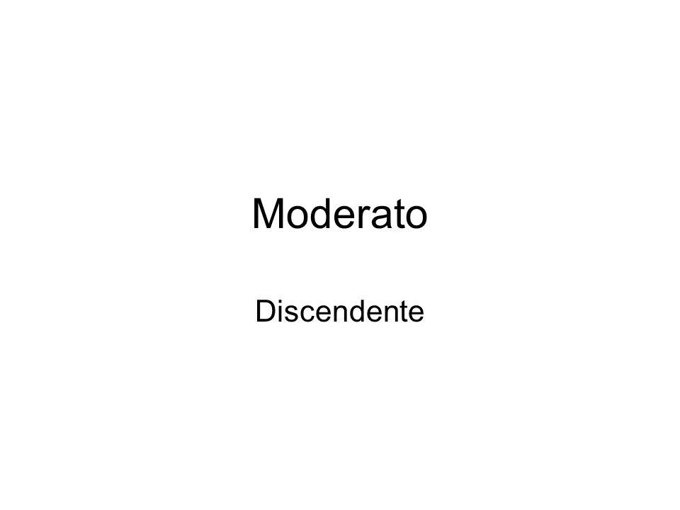 Moderato Discendente