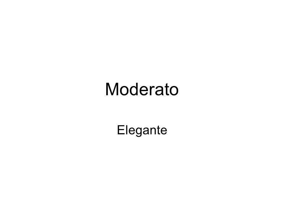 Moderato Elegante