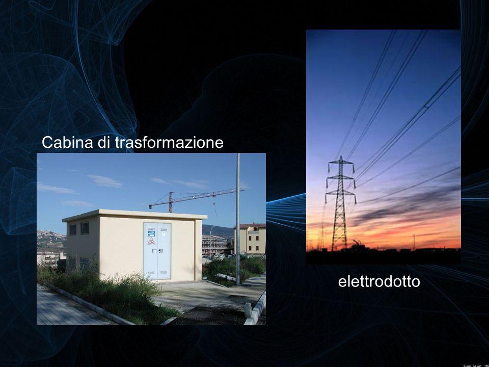 Cabina di trasformazione elettrodotto