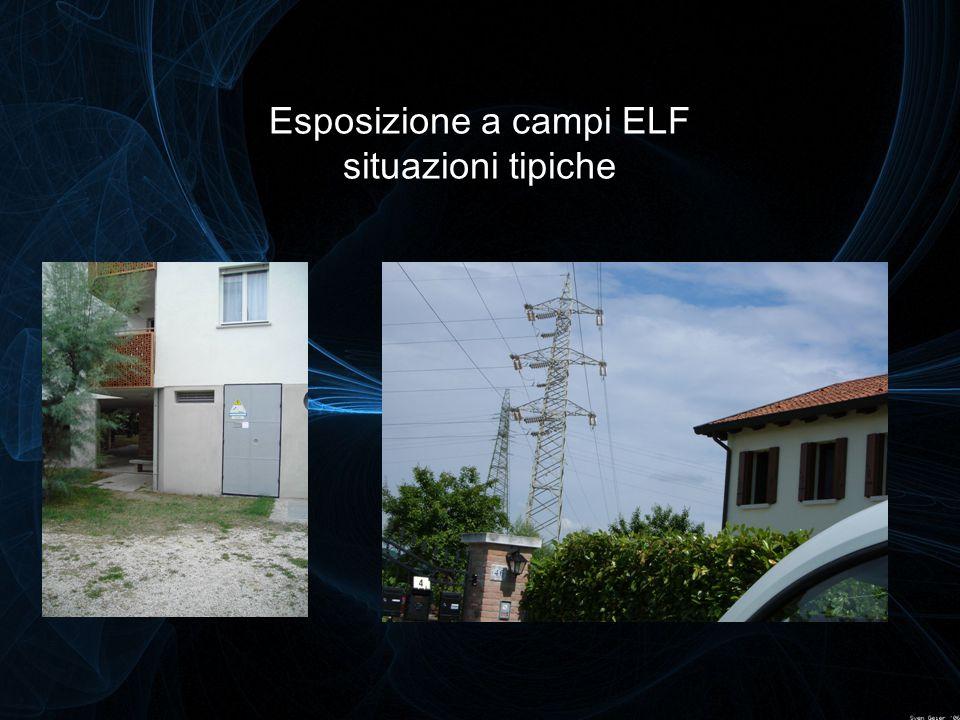 Esposizione a campi ELF situazioni tipiche